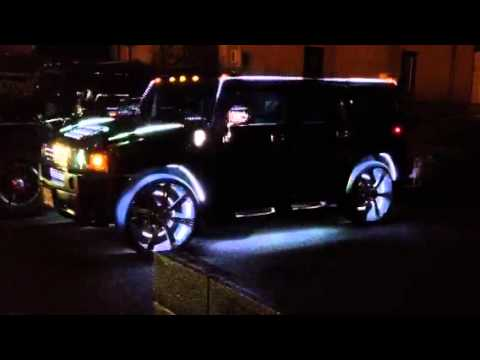 LED Light Show Of HUMMER H2 Mp3