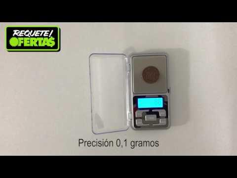 Pesa Gramera Máxima Precisión 0,1 gramos