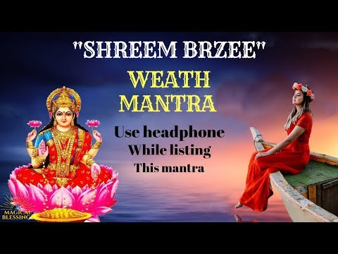 Shreem Brzee Mantra 108 Time Get Happy & Healthy Very