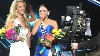 Miss Universe 2015. Philippines' reaction by Athenna Crosby MissCATeenUSA16