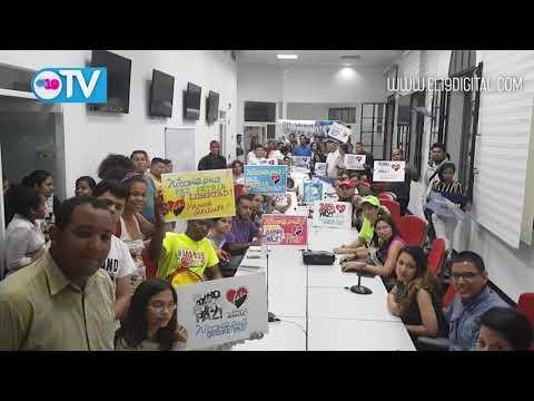 Mensaje de solidaridad con Nicaragua, del compañero David Graterol, Organizador Juventud PSUV