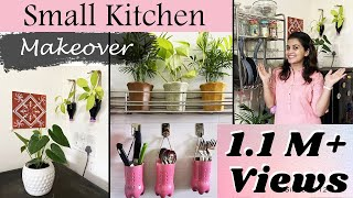 Small Kitchen Makeover On A Budget | No Cost DIY For Kitchen