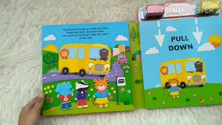 the wheels on the bus pudgy board book