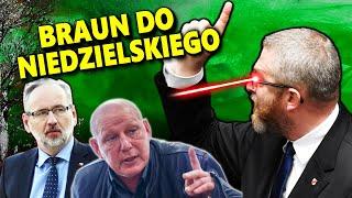 Braun do Niedzielskiego W Sejmie ..