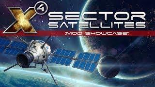 Sector Satellites - X4 Foundations Mod Showcase