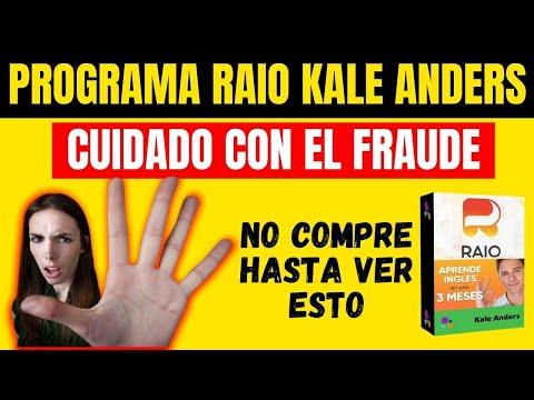 PROGRAMA RAIO FUNCIONA? Programa Raio Para Aprender Ingls Es Bueno? PROGRAMA RAIO KALE ANDERS
