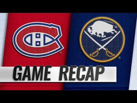 26f4444db Google News - Sabres beat Canadiens 3-2 for 8th straight win - Overview