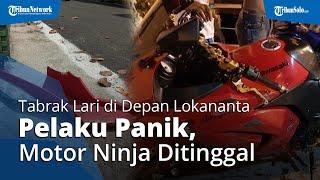 Warga Ceritakan Kronologi Tabrak Lari di Depan Lokananta: Pelaku Panik, Motor Ninja Ditinggal