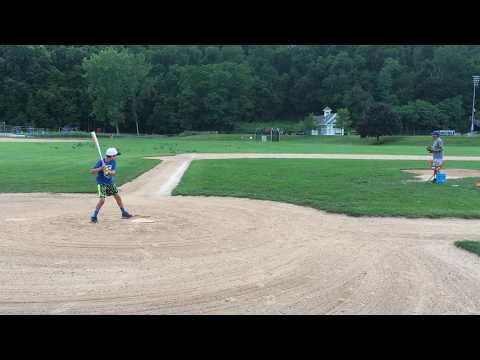 Live Batting Practice with a COMBAT VIGOR