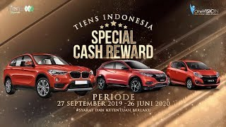 TIENS INDONESIA SPECIAL CASH REWARD 2020