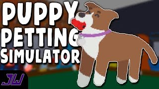 PUPPY PETTING SIMULATOR! | Pet the Pup at the Party (Full Game)