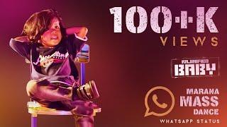 Whatsapp Status | Rajinified Baby | Marana Mass Dance | Thalaivar Pongal | Samishkha