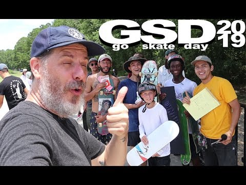 GO SKATE DAY 2019 | Owens Field Contest + Street Barge