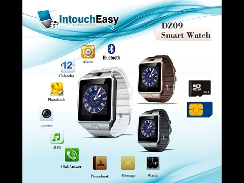 Smart Watch Dz09 Reloj Inteligente Chip Micro Sd Radio FM