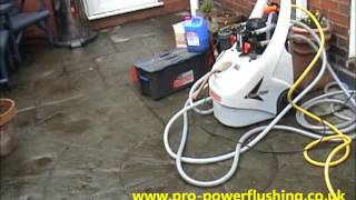 preview picture of video 'power flushing stoke on trent'
