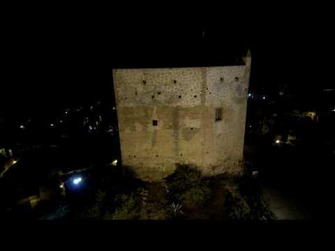 Xiaomi mi drone 4K vuelo nocturno por Velez de Benaudalla (Granada)