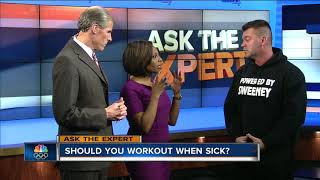 Ask the Expert: Working out with the flu