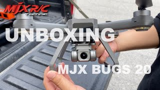 UNBOXING MJX B20 BUGS 20 EIS TECHNOLOGY DRONE
