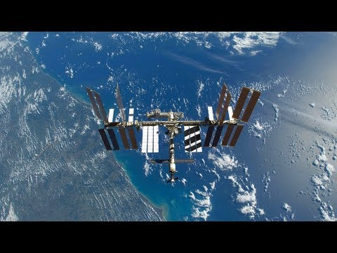 International Space Station NASA Live View With Map - 229 - 2019-10-17