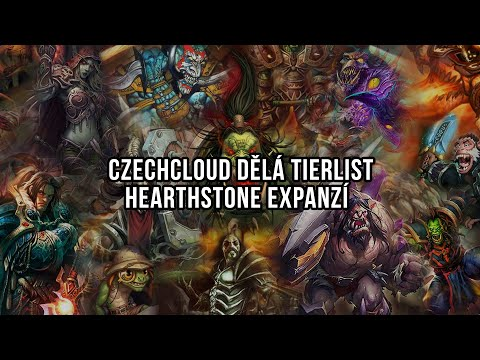 CzechCloud dělá tierlist Hearthstone expanzí