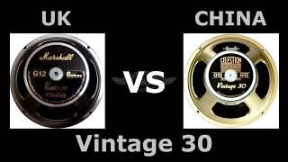 celestion greenback vs vintage 30