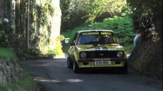 preview picture of video 'Jersey Rally 2011 - Maufant stage'