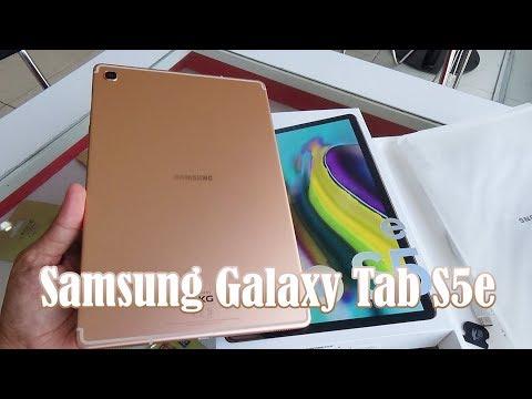 Samsung Galaxy Tab S5e Gold color