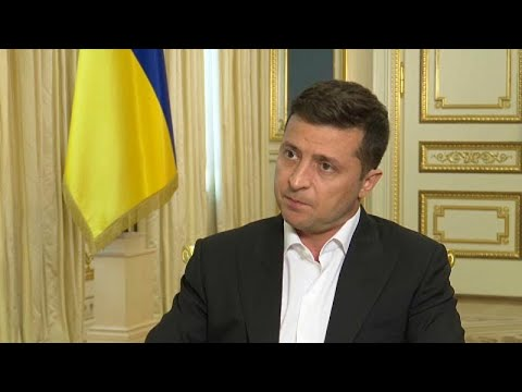 Ο Ζελένσκι στο Euronews: «Διάλογος για να αποφευχθεί αιματοχυσία στη Λευκορωσία»…