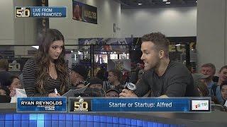 Ryan Reynolds and Katie Nolan Play Starter Or Startup