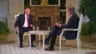 Интервью Владимира Путина австрийскому телеканалу ORF. Часть 1