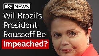 Brazil's President Faces Key Impeachment Vote