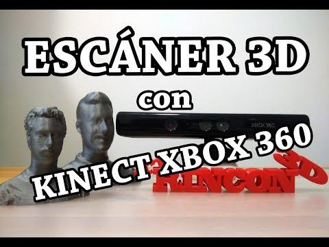 Tu propio escáner 3D con Kinect XBOX 360