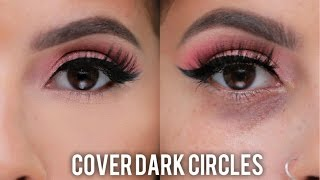 How to Cover Dark Circles &  Under Eye Bags - Video Youtube