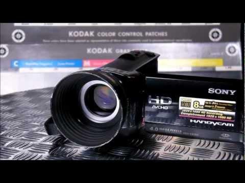 SONY Videokamera Full HD HDR-CX105E