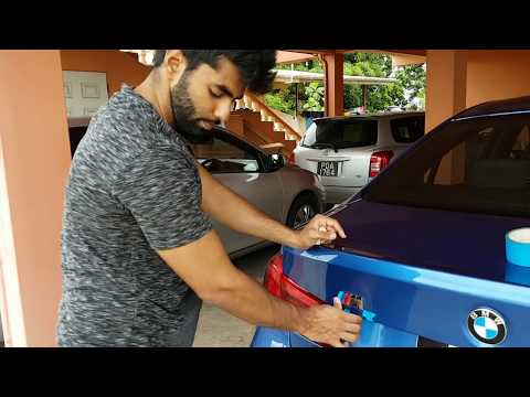 HOW TO INSTALL M BADGE ON A BMW F30