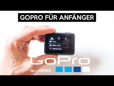 GoPro Hero 6 & 5 Black für Anfänger | Tutorial | Benutzeranleitung | Sprachsteuerung | WLAN