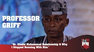 Professor Griff - Dr Khalid Muhammad Relationship & Why I Stopped Running With Him (247HH Exclusive)