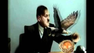 Reupload: Hitler is informed there is a bird nest on his desk