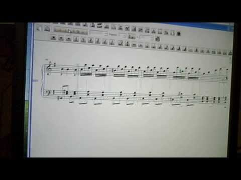 This is just one of several original piano pieces I had composed for the intermediate-level student.