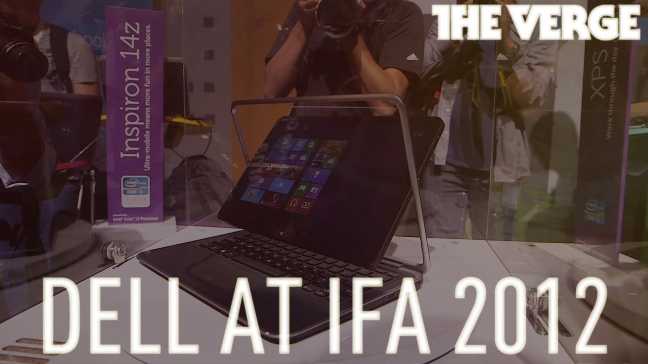 Dell XPS One 27, XPS 12 Duo convertible tablet, and XPS 10 Windows RT tablet at IFA 2012 thumbnail
