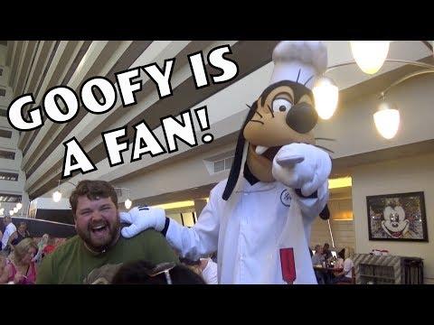 Goofy is a Fan! - Disney World Impressions