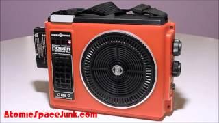 Devo Red Eye - GE Power Sound 8-Track Player