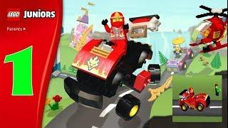 Игровой Мультик про Лего Джуниор. Приключения Лего Человечков и Приключения Лего Машинки.