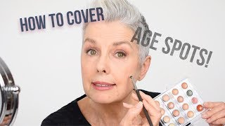 How To Cover Age Spots - Makeup Artists Tips By Kerry-Lou