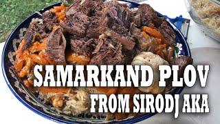 Самаркандский плов от Сиродж ака МАСТЕР КЛАСС специально для Samarkand.me