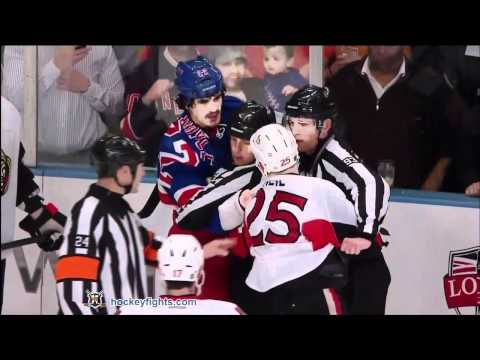 Brian Boyle vs. Chris Neil