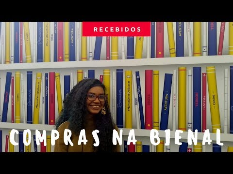 BOOK HAUL BIENAL DO LIVRO 2018
