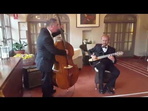 Jazz - contrabajo y guitarra