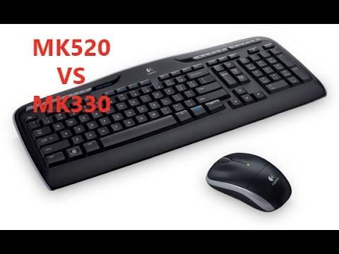 Teclado inalambrico LOGITECH MK520 VS MK330