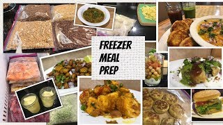 Freezer Meal Prep For Beginners Indian Meal Prep With Few Recipes Ideas!